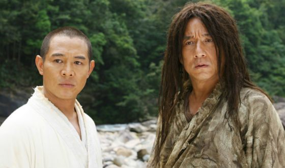 Jet Lee and Jackie Chan (The Forbidden Kingdom)