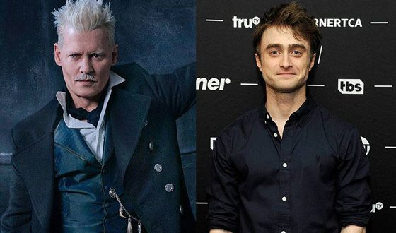 Daniel Radcliffe believes that it is impossible to shoot Depp in the sequel «Fantastic Beasts»