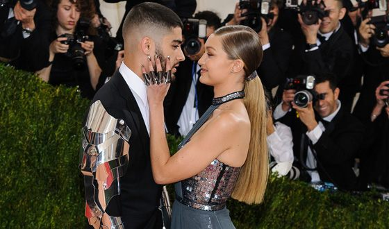 Zayn Malik got a tattoo in Gigi Hadid's eyes shape