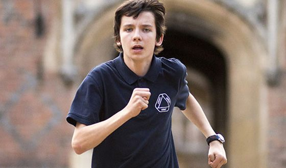 Asa Butterfield starred in the comedy horror film «Slaughterhouse Rulez»