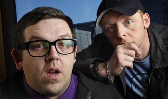 Simon Pegg and Nick Frost are well known by their joint projects