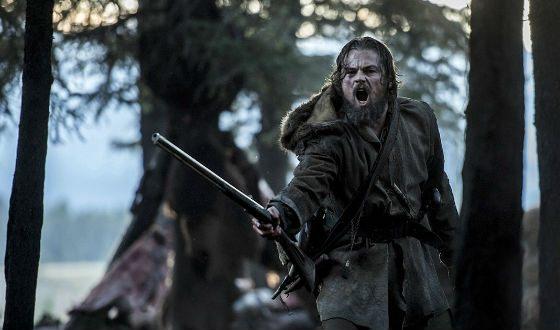 Ди Каприо в фильме «Выживший»