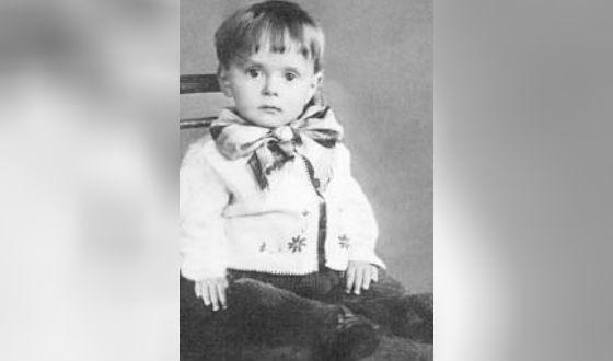 Роман Карцев в детстве