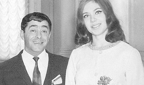 Роман Карцев и его жена Виктория Кассинская