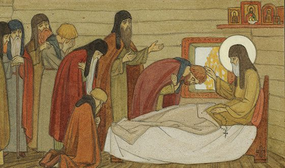 Преставление преподобного Сергия Радонежского