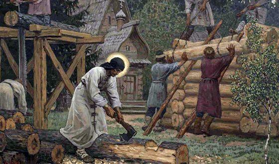 Преподобный Сергий Радонежский в трудах