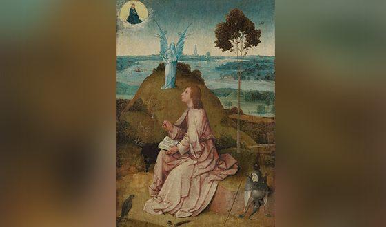 Иоанн на острове Патмос (картина Иеронима Босха)