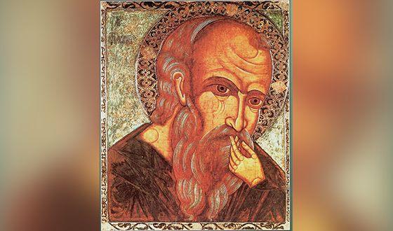 Иоанн Богослов. Русская икона XVII века