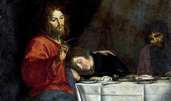 Иисус Христос и апостол Иоанн
