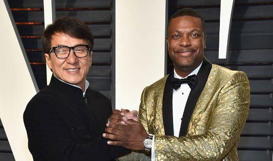 """Chris Tucker became famous after the movie """"Rush Hour"""", where he played together Jackie Chan"""