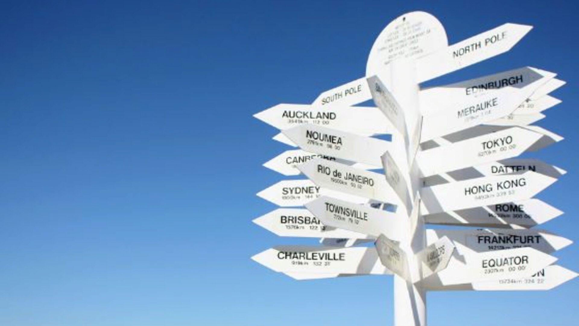 Choose unfamiliar routes