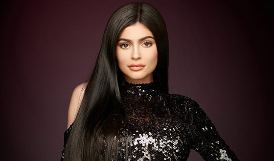 On the photo: Kylie Jenner