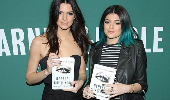 Jenner sisters presented the book