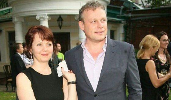 Sergey Zhigunov with his wife