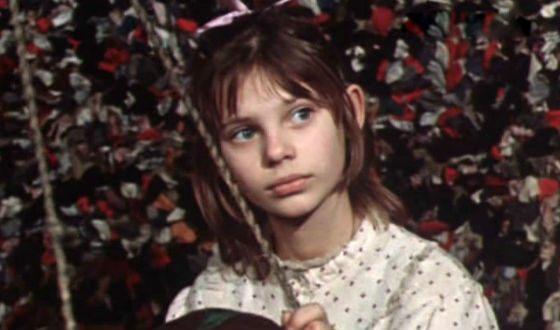 Olga Mashnaya began acting as a child