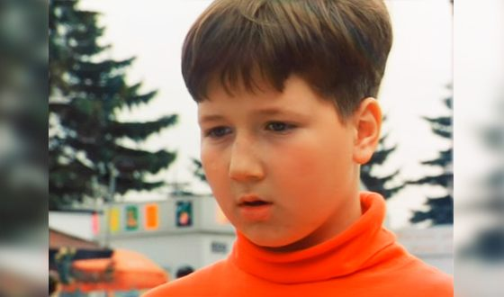 "Kirill Kaganovich in childhood (episode from the film magazine ""Yeralash"")"