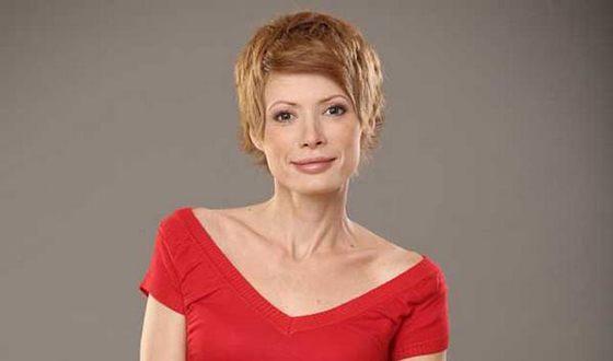 Телеведущая Елена-Кристина Лебедь