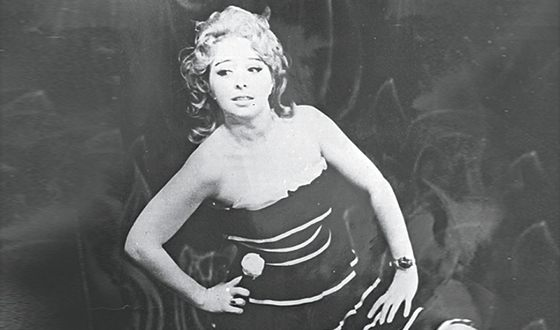 Anna Frolovtseva in her youth