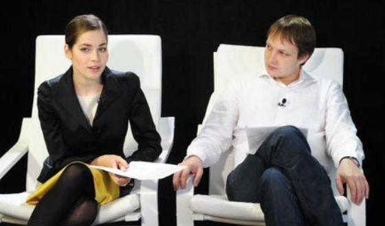 Юлия Снигирь в студии передачи «Теория относительности»