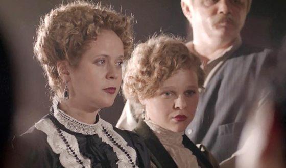 """Anastasia Aseeva in the series """"Kuprin"""""""