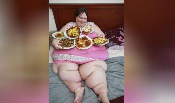 Кэрол Йегер - самая толстая женщина в мире