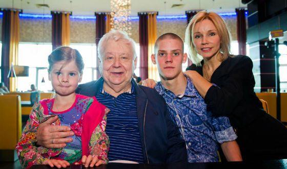 Children in the family of Oleg Tabakov could be more