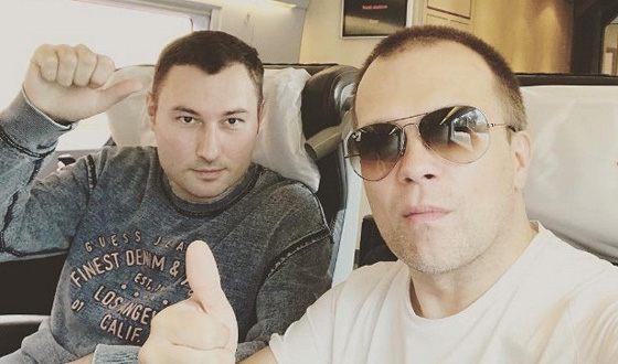 Concert director DJ Groove Denis Kalinin (left) killed his mother-in-law