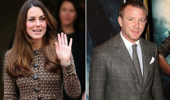 Kate Middleton and Guy Richie