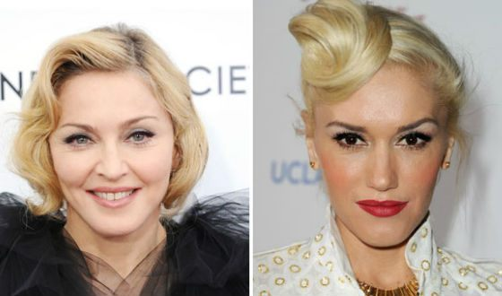 Madonna is intimately connected with Gwen Stefani and Lady Gaga