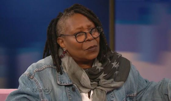 Even at this age, Whoopi Goldberg is not afraid to experiment.