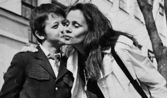 Mom of Alexey Makarov - actress Lyubov Polishchuk