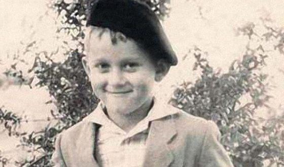 Александр Миньков (Маршал) в детстве