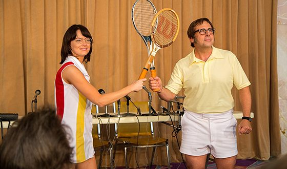 Стив Карелл и Эмма Стоун в картине «Битва полов»