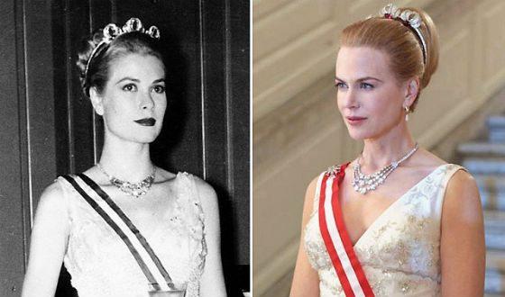 In biopic Grace Kelly played Nicole Kidman
