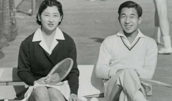 The future empress of Japan met her husband on the tennis court