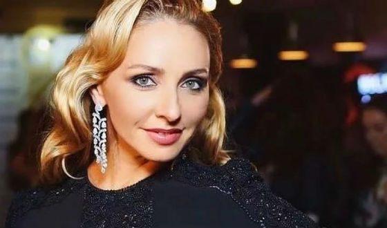 Tatiana Navka struck everyone with her diamonds