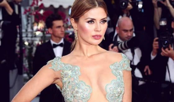 Victoria Bonya at the Cannes Film Festival