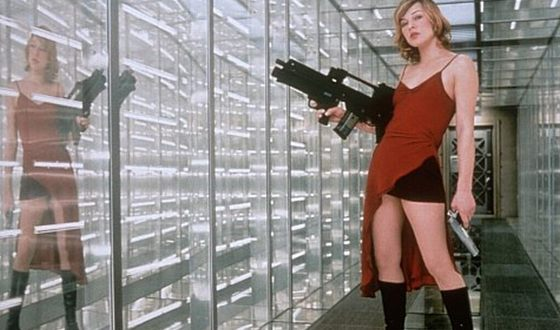 Milla Jovovich in the film