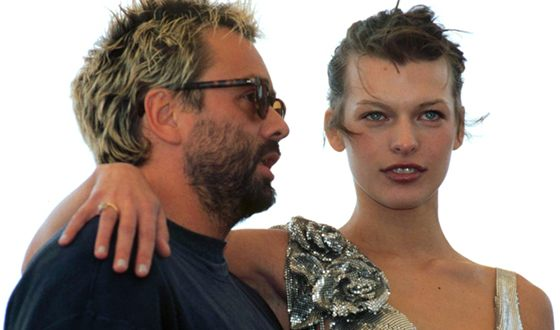 Milla Jovovich and Luke Besson were married