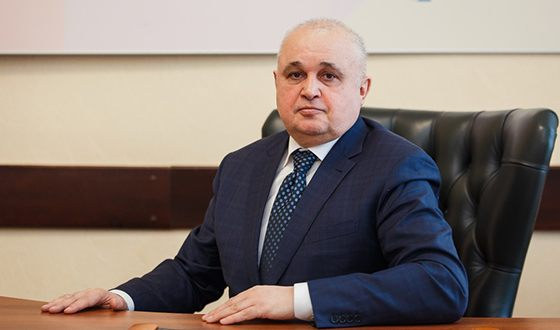 Governor of the Kemerovo Region Sergey Tsivilev