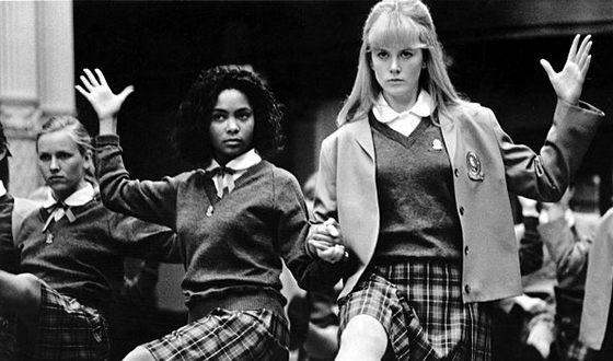 "Tandy Newton and Nicole Kidman in the movie ""Flirt"""