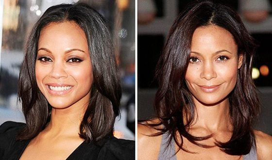 Zoe Saldana and Tandy Newton have a lot in common