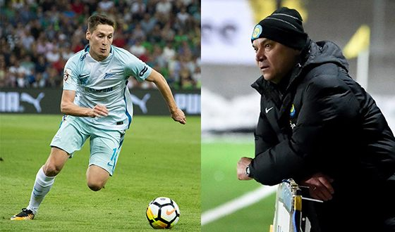Daler Kuzyaev - hereditary football player (in the photo on the right his father)