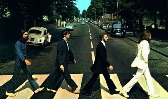 The Beatles (обложка альбома «Abbey Road»)