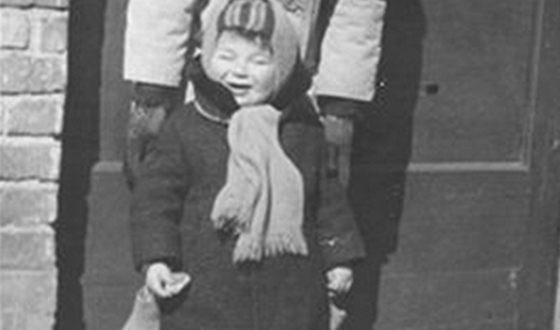 Roman Abramovich in childhood