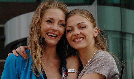 Tatyana Kazyuchits and her sister Anna Kazyuchits