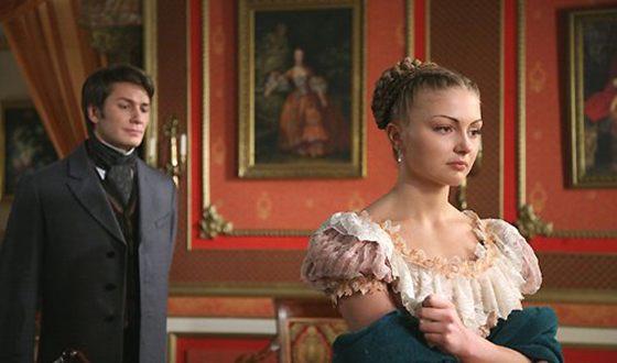 """Tatyana Kazyuchits in the film """"One night of love"""""""