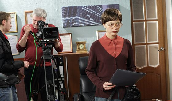 "Tatyana Kazyuchits in the series ""The Terrible Beauty"""