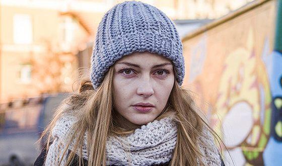 "Tatyana Kazyuchits in the film ""Woman in Need"""