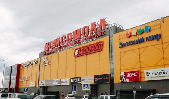 В одном из ТЦ Иркутска в результате пожара пострадали дети